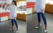 """Áo rộng thùng thình chân đi cao gót, Linh Ka bị netizen """"mỉa mai"""" học đòi làm người lớn"""