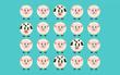 Chỉ người có IQ cao mới phát hiện ra 7 bức tranh con cừu khác biệt trong vòng 10 giây