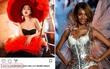 Không chỉ follow, siêu mẫu Victoria's Secret Jourdan Dunn còn tích cực thả tim cho Châu Bùi trên Instagram