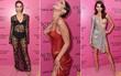 """Thảm hồng Victoria's Secret: Ngập tràn """"da thịt"""" các chân dài, dàn khách mời Hoa ngữ khá lèo tèo"""