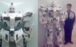 Thiếu niên kiên trì 'gấp' robot cao gần 2 mét trong suốt 9 tháng bằng 550 tờ giấy khổ lớn