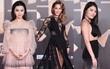 """Thảm đỏ """"Đêm hội Weibo"""": Phạm Băng Băng lép vế mỹ nhân 41 tuổi, """"Kim Kardashian Trung Quốc"""" lộ nội y vì mải tạo dáng"""