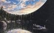 Bức tranh hồ nước huyền bí tiết lộ cá tính nổi trội của mỗi người