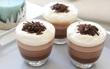 Tín đồ socola thì không thể bỏ qua công thức làm pudding socola 3 tầng ngon tuyệt cú mèo