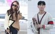 Cùng lên đường dự Milan Fashion Week, chị em Krystal - Jessica sang chảnh, Park Seo Joon bảnh bao với cả cây đồ hiệu