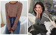 Áo kẻ ngang dài tay: item mặc thế nào cũng đẹp và không thể thiếu trong tủ đồ thu của các nàng