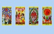 Chọn 1 trong 4 lá bài Tarot để dự đoán tình yêu trong thời gian tới