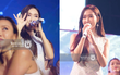 Jessica cầm mic 1,3 tỉ diễn hết mình dưới mưa, Sơn Ngọc Minh chuẩn soái ca che ô cho Shontelle