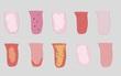 Khám xét tình trạng sức khỏe và tinh thần con người qua hình dáng lưỡi