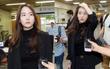 Bạn gái cũ của T.O.P xuất hiện xinh đẹp, được săn đón khi đến nhận án vì tội dùng ma túy tổng hợp