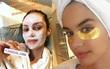 """Không riêng gì Phạm Băng Băng, các thiên thần Victoria's Secret cũng rất """"nghiện"""" đắp mặt nạ"""