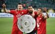 Bayern lập chiến tích lịch sử, lần thứ 5 liên tiếp giành Đĩa bạc Bundesliga