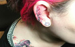 Mốt xăm vành tai đang khiến hội xăm trổ mê tít
