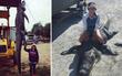 """Nữ thợ săn cao """"một mét bẻ đôi"""" bắt được con cá sấu khổng lồ to gấp 3 lần mình"""