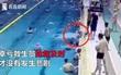 Cảnh báo: Bé 5 tuổi chới với trong bể bơi mà người lớn không phát hiện ra