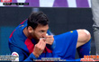 TRỰC TIẾP (Hiệp 1) Real Madrid 0-0 Barca: Messi đổ máu mồm