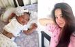 Vy Oanh lần đầu khoe cận mặt con gái mới sinh