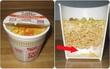 Ý đồ cực hay ho của nhà sản xuất trong mỗi cốc mỳ mà chúng ta không hề hay biết