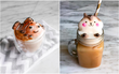 Nghệ thuật đúc tượng hoạt hình 3D làm từ bọt cà phê