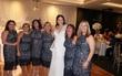 Sự trùng hợp đáng kinh ngạc: 6 cô nàng không hẹn nhưng cùng mặc chiếc váy giống hệt nhau đi dự đám cưới