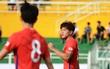 U22 Hàn Quốc giành chiến thắng 10-0 trên sân Thống Nhất