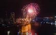 Chùm ảnh: Đà Nẵng lung linh nhìn từ trên cao trong đêm thi đầu tiên Lễ hội pháo hoa 2017