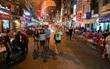 Sau khi tạm hoãn, phố đi bộ Bùi Viện sẽ chính thức khai trương vào ngày 19/8