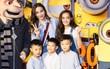 Hồ Ngọc Hà tươi tắn hội ngộ Kaity Nguyễn khi dắt bé Subeo đi xem hoạt hình