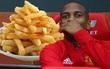 Sao Man Utd chỉ thích ăn khoai tây chiên có cùng kích cỡ