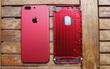 Cận cảnh dịch vụ độ vỏ màu ĐỎ RỰC cho iPhone tại Việt Nam, giá khoảng 1 triệu đồng
