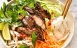 Bún gà nướng - biến tấu mới cho bún thịt heo nướng quen thuộc