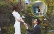 """""""Ông trùm giải trí"""" Bae Yong Joon và vợ Park Soo Jin lần đầu lộ diện cùng quý tử đầu lòng"""