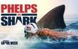 Siêu kình ngư Michael Phelps tập bơi cách bầy cá mập chỉ 8 mét