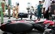 Nam sinh phạm luật tông ngã cảnh sát giao thông