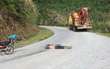 Du khách nước ngoài bị xe phọc cán tử vong trên đường đi phượt