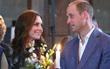 Dù đã kết hôn 6 năm, vợ chồng công nương Kate và hoàng tử William vẫn trao nhau những cái nhìn âu yếm như thuở mới hẹn hò
