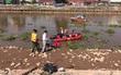 Ninh Bình: Tìm thấy thi thể nạn nhân bị ô tô khách đâm văng xuống sông sau một ngày mất tích