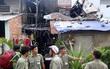 Lửa thiêu rụi căn nhà của hơn 20 người sinh sống ở Sài Gòn