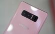 Cận cảnh Galaxy Note8 màu hồng nữ tính tại Việt Nam, nhìn vào là thích mê!