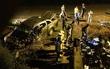 Xe bán tải gắn biển giả chở gần 15 nghìn gói thuốc lá lậu gây tai nạn