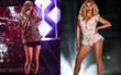 Taylor Swift khoe cặp đùi mật ong to ngang ngửa Beyoncé trên sân khấu trở lại