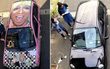 Nhật Bản: Bị chê dở hơi vì dùng bút viết bảng để sơn ô tô, sau khi đem xe đi rửa ai nấy đều bất ngờ