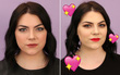 """Cô nàng này đã đến 2 địa chỉ nổi tiếng yêu cầu được makeup theo phong cách lễ hội và """"bật ngửa"""" vì kết quả"""