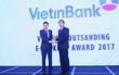 """VietinBank nhận giải """"Ngân hàng Điện tử tiêu biểu nhất năm 2017"""""""