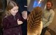 Ngắm mái tóc dài đẹp như công chúa của Harper, Beckham cười hạnh phúc còn hơn cả khi ghi bàn