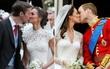 Chùm ảnh: Những điểm giống nhau đáng kinh ngạc giữa đám cưới của Công nương Anh và em gái