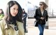 """Yoona và Lee Sung Kyung đọ sắc: """"Mỗi người một vẻ"""" gây náo loạn sân bay"""