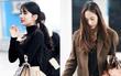 2 nữ thần đọ sắc tại sân bay: Không thể chọn nổi Suzy hay Krystal đẹp hơn