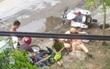 3 thanh niên 10X tông xe máy vào môtô CSGT, 2 người bị thương nặng