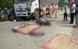 Hòa Bình: Xe tải đấu đầu xe máy, hai nam thanh niên tử vong